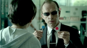 From Adweek, Agent Smith makes what are probably pretty good medical machines seem really creep.